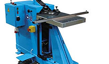 spiral helix fitting machines gorelocker lite producing elbows, reducers, endcaps and offsets