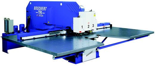 Boschert cnc punching machinery tri series