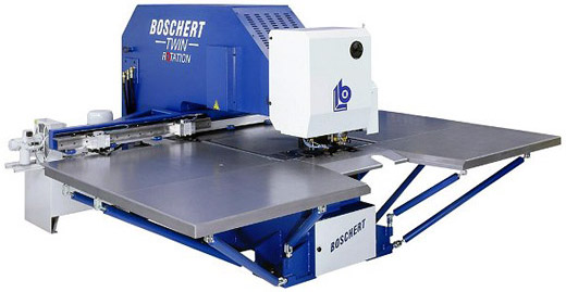 Boschert CNC punching machines twin series