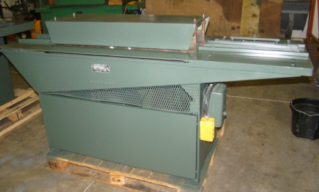 front view-used engel 825 s drive w slitter rollformer