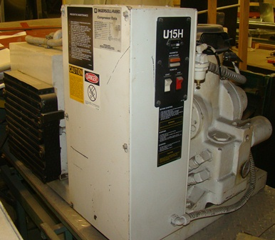ingersoll rand u15h sp air compressor
