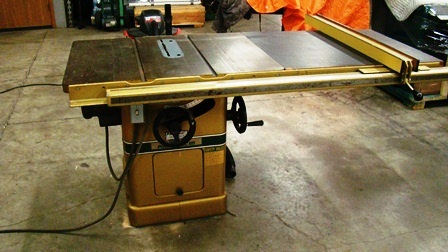 powermatic tilting arbor saw