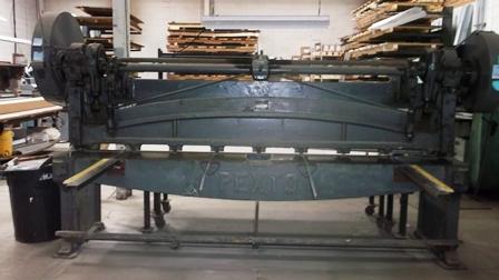 used sheet metal machine