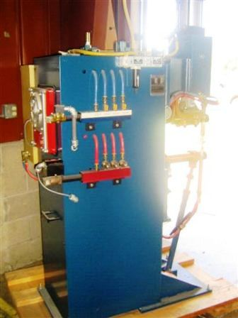 used dti peer press welder