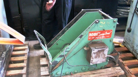 used rowe machinery easy load conveyor