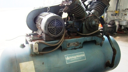 used kellogg american air compressor